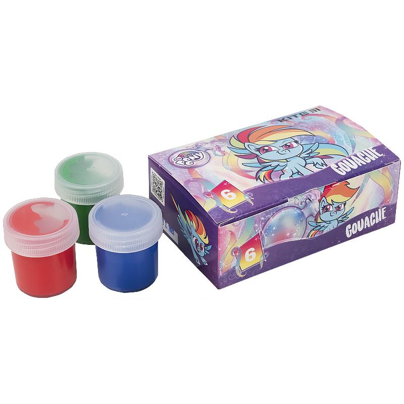 Гуашь Kite My Little Pony LP21-062, 6 цветов