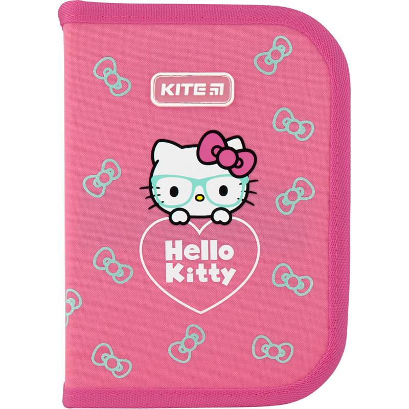 Пенал з наповненням Kite Education Hello Kitty HK20-622H, 1 відділення, 2 відвороти