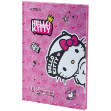 Дневник школьный Kite Hello Kitty HK21-262-2, твердая обложка