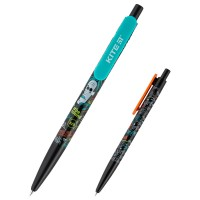 Ручка шариковая автоматическая Kite BeSound K20-360-01, синяя