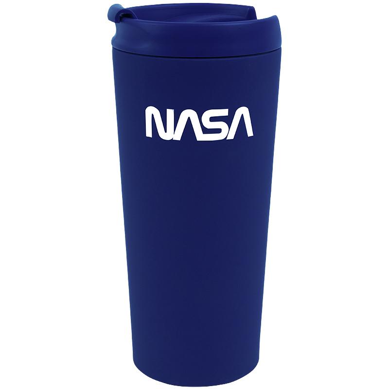 Термокружка Kite NASA NS21-303, 440 мл, синяя