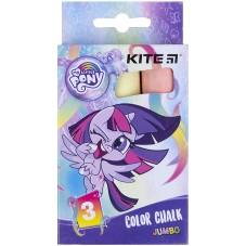 Крейда кольорова Kite Jumbo My Little Pony LP21-077, 3 кольори