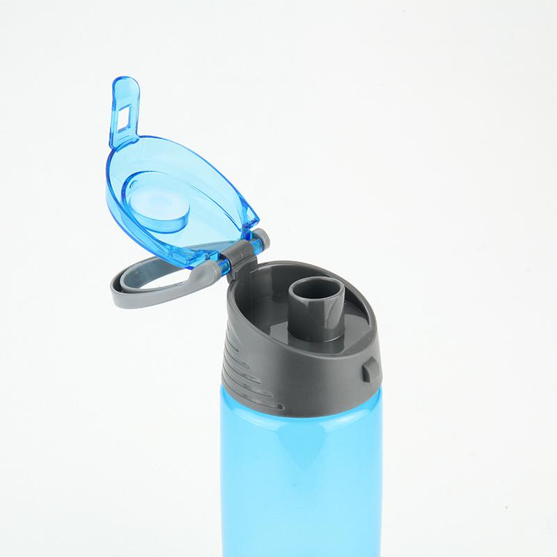Пляшечка для води Kite K18-401-04, 550 мл, блакитна