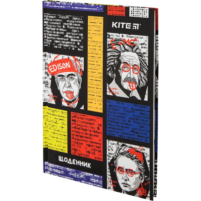 Дневник школьный Kite Scientists K20-262-8, твердая обложка