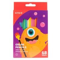 Карандаши цветные Kite Jolliers K19-052-5, 18 цветов