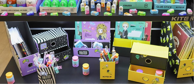 Канцелярія майбутнього: Kite презентував круті новинки товарів для школи та творчості