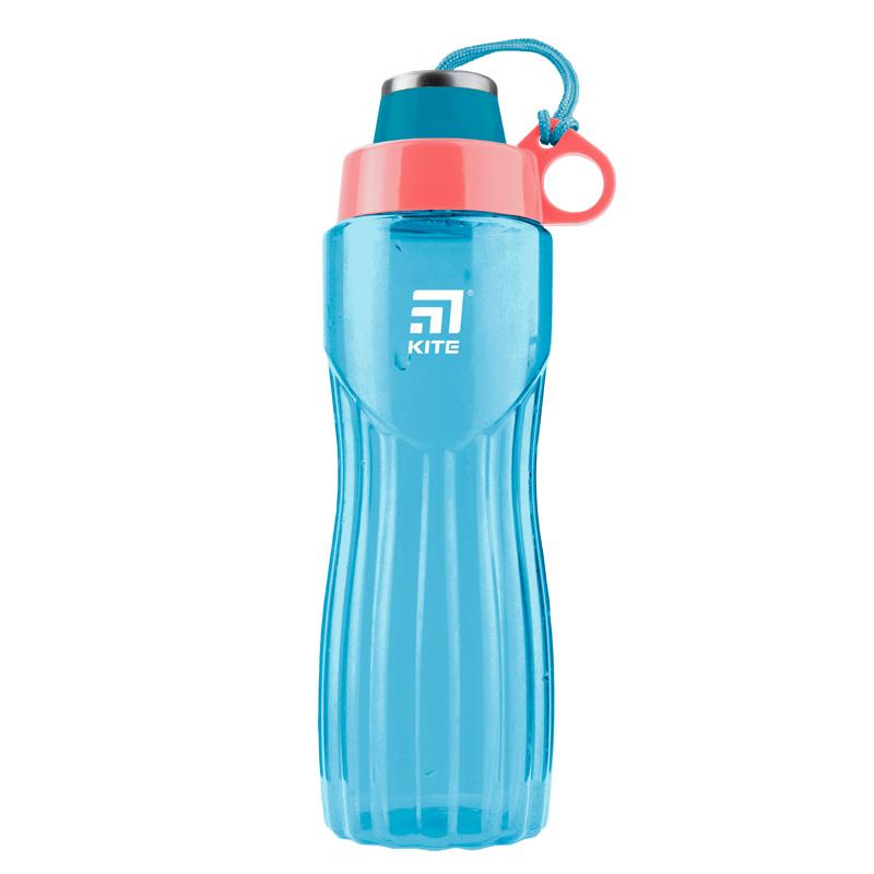 Пляшечка для води Kite K20-396-02, 800 мл, бірюзова