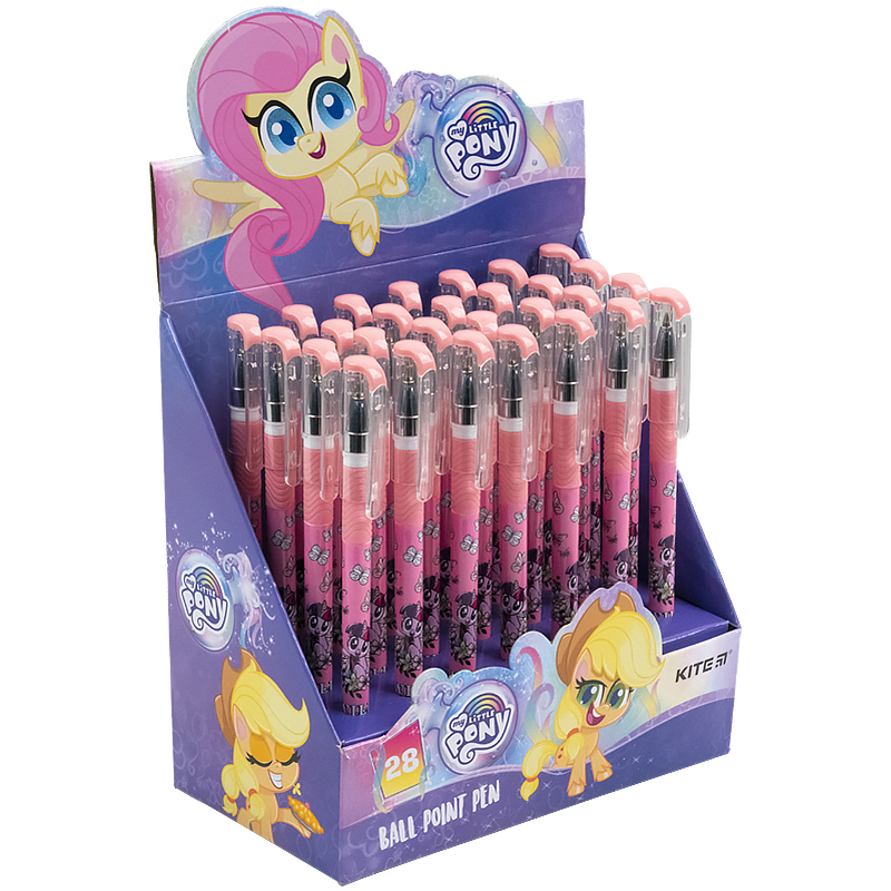 Ручка кулькова Kite My Little Pony LP21-032, синя