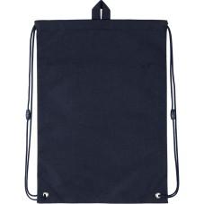 Сумка для обуви с карманом Kite Education College Line blue K20-601M-2
