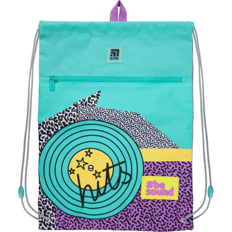 Сумка для обуви с карманом Kite Education Be sound K21-601L-21