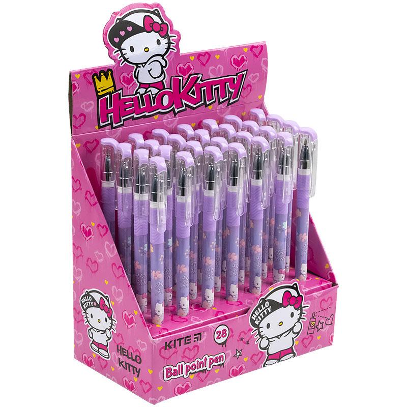 Ручка кулькова Kite Hello Kitty HK21-032, синя
