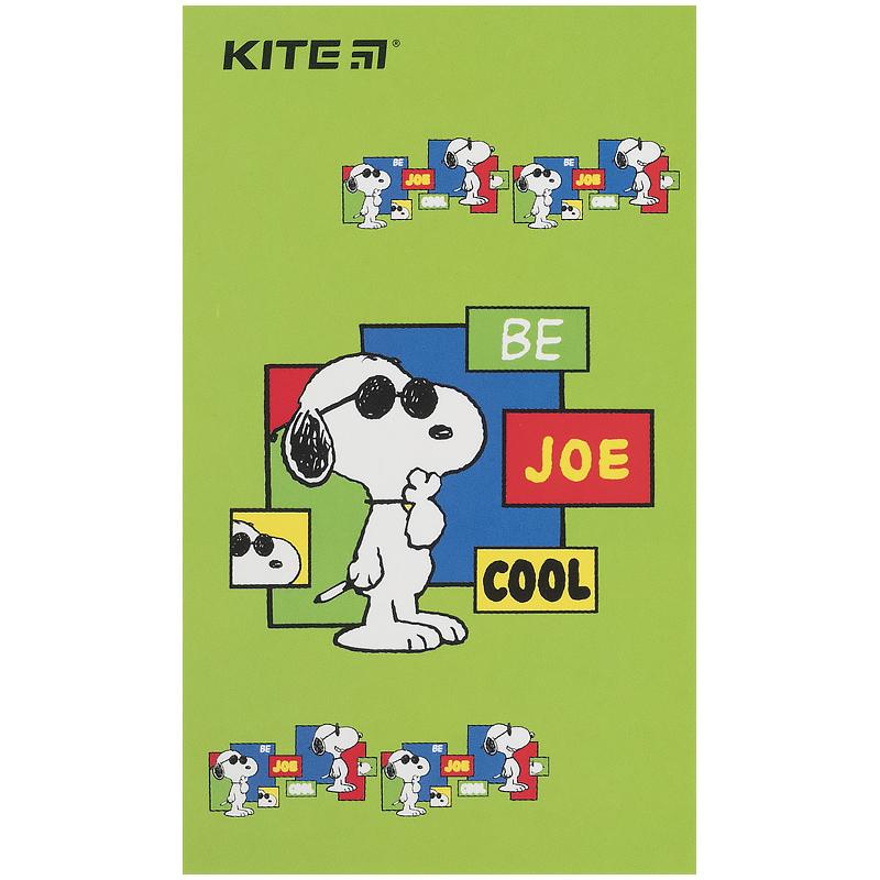 Блокнот-планшет Kite Snoopy SN21-195, A6, 50 листов, нелинованный