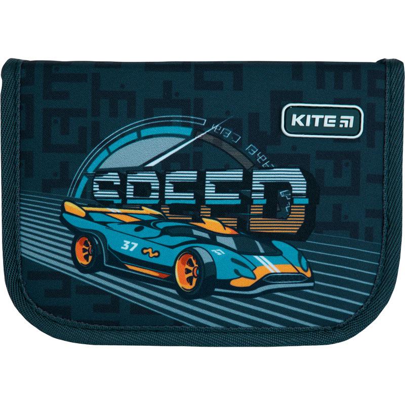 Пенал без наполнения Kite Education Speed K21-621-2, 1 отделение, 1 отворот