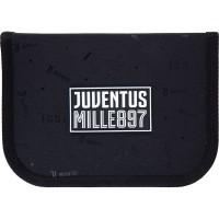 Пенал без наполнения Kite Education FC Juventus JV21-622, 1 отделение, 2 отворота