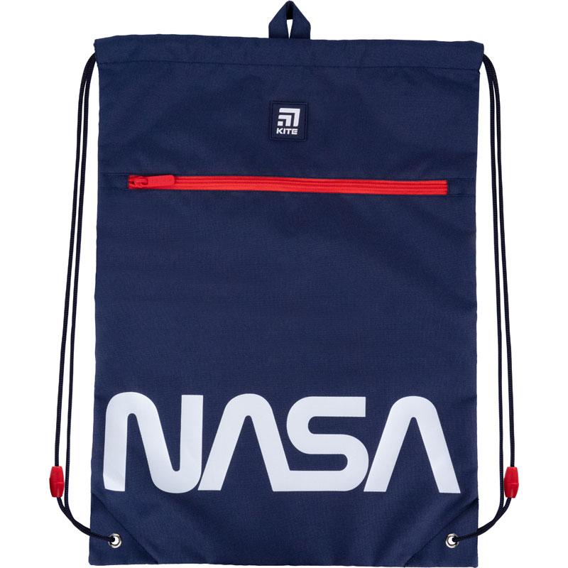 Сумка для обуви с карманом Kite Education NASA NS21-601L-2
