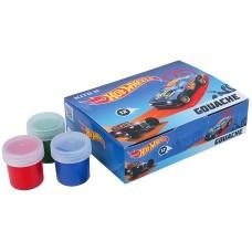 Гуаш Kite Hot Wheels HW21-063, 12 кольорів