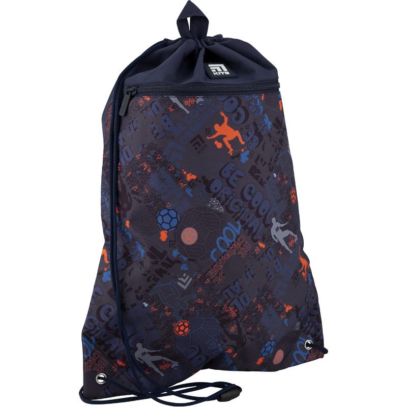 Сумка для обуви с карманом Kite Education Cool K20-601M-14