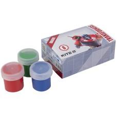 Гуашь Kite Transformers TF21-062, 6 цветов
