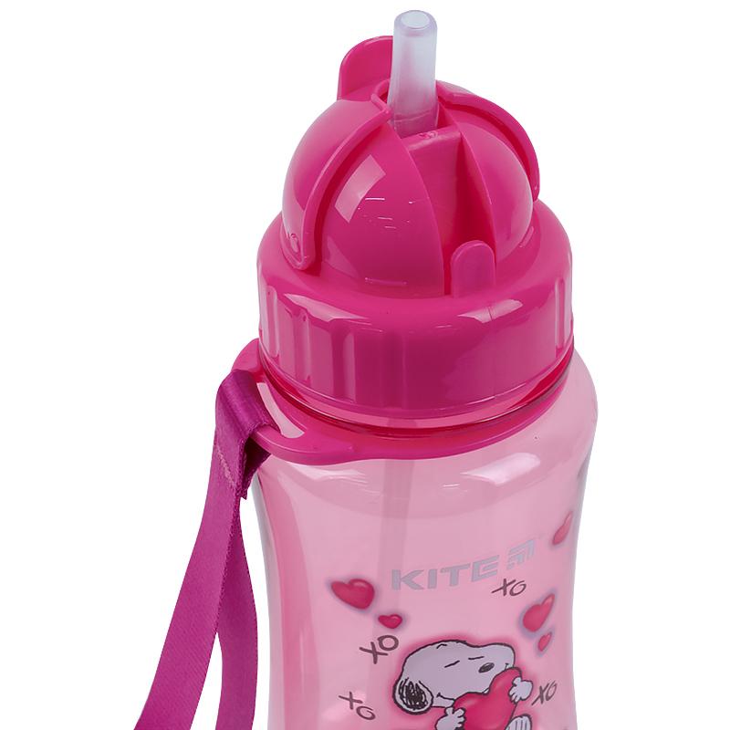 Пляшечка для води Kite Snoopy SN21-399-2, 350 мл, рожева