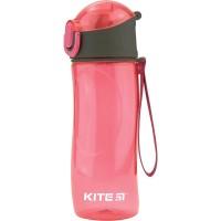 Бутылочка для воды Kite K18-400-02, 530 мл, розовая