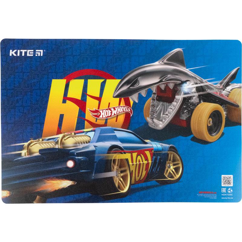 Підкладка настільна Kite Hot Wheels HW21-207
