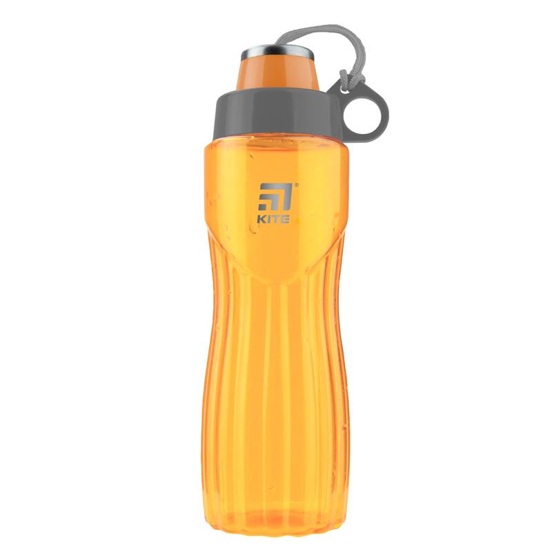 Пляшечка для води Kite K20-396-01, 800 мл, помаранчева