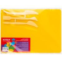 Набор для лепки Kite K17-1140-08 (доска + 3 стека), желтый