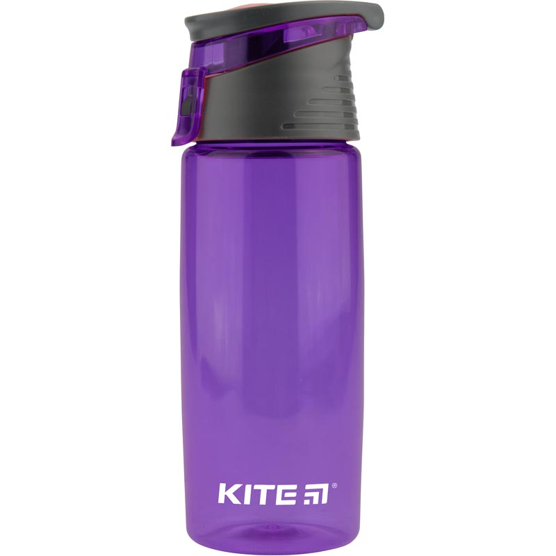 Пляшечка для води Kite K18-401-05, 550 мл, фіолетова
