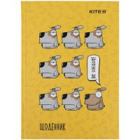 Дневник школьный Kite Be unique K21-262-1, твердая обложка