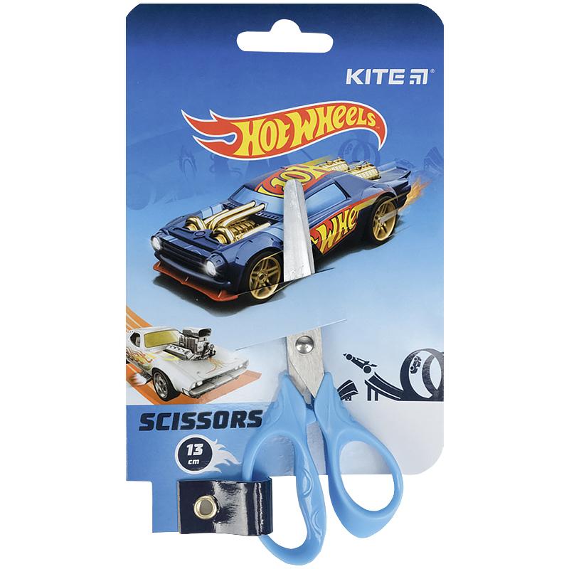 Ножиці Kite Hot Wheels HW21-122, 13 см