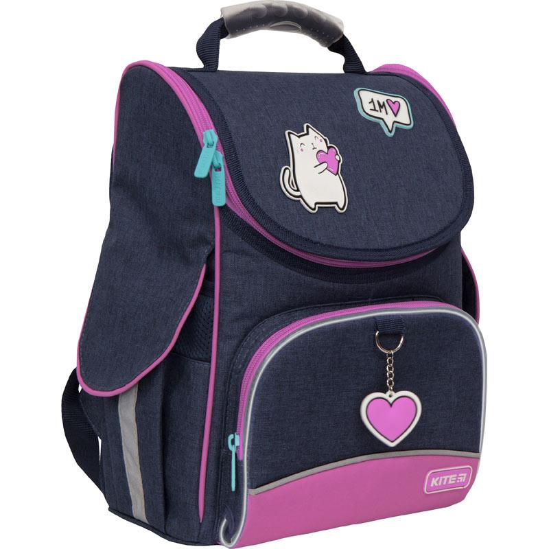 Рюкзак школьный каркасный Kite Education Insta-cat K21-501S-5 LED