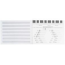 Тетрадь для нот Kite Make some noise K21-405, A5, 20 листов