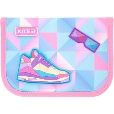 Пенал с наполнением Kite Education Cool girl K21-622H-7, 1 отделение, 2 отворота