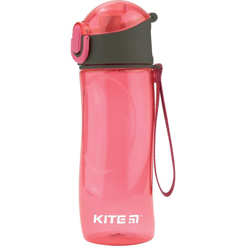 Пляшечка для води Kite K18-400-02, 530 мл, рожева