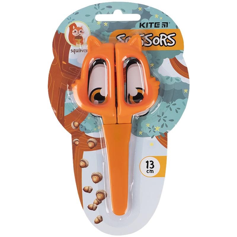 Ножиці в футлярі Kite Squirrel K21-017-02, 13 см