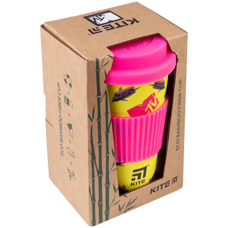 Стакан из бамбука в коробке Kite MTV MTV20-311-1, 440 мл
