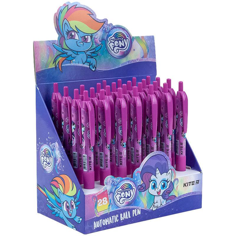 Ручка кулькова автоматична Kite My Little Pony LP21-039, синя