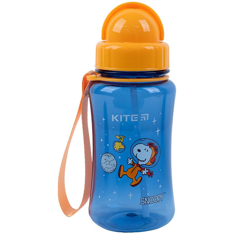 Пляшечка для води Kite Snoopy SN21-399-1, 350 мл, синя