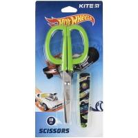 Ножницы в футляре Kite Hot Wheels HW21-124, 13 см