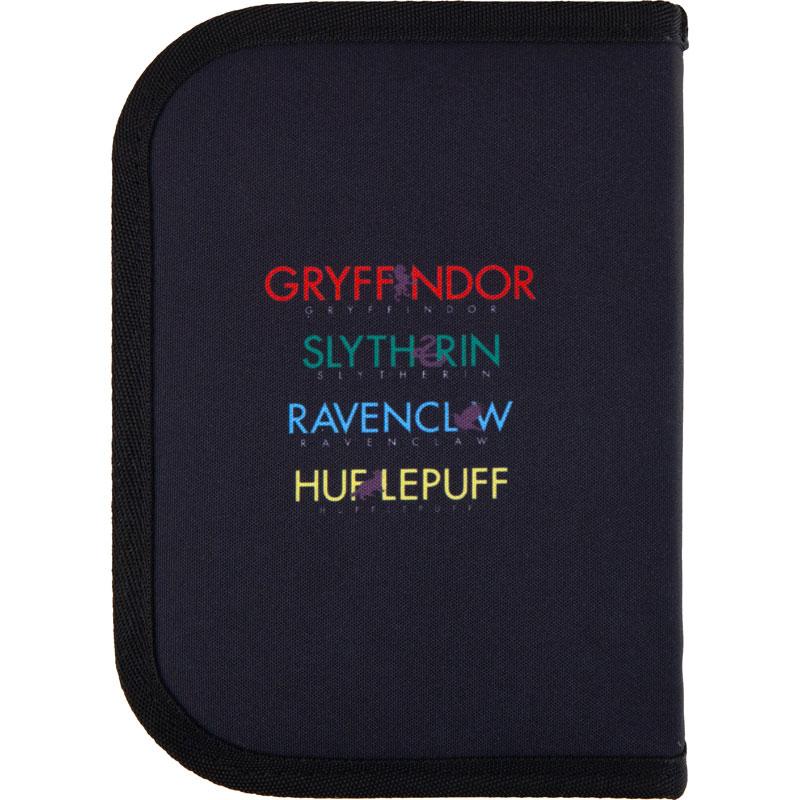 Пенал без наполнения Kite Education Harry Potter HP21-622, 1 отделение, 2 отворота