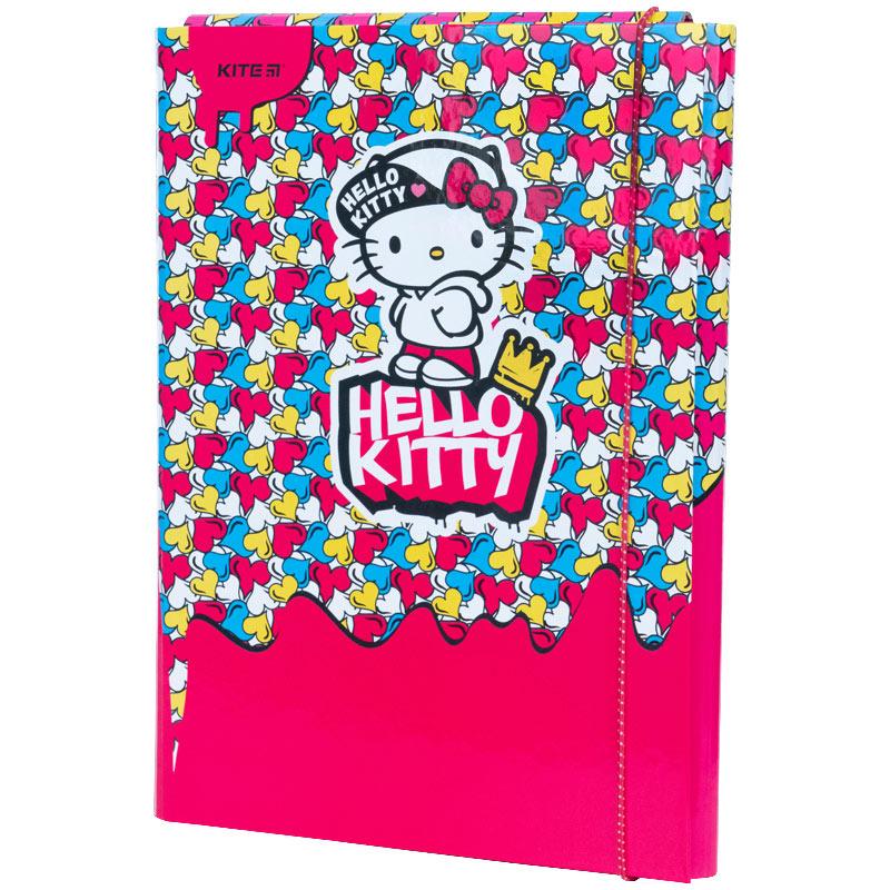 Папка для трудового навчання Kite Hello Kitty HK21-213, А4