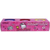 Тісто для ліпки кольорове Kite Hello Kitty HK21-151, 3*75 г