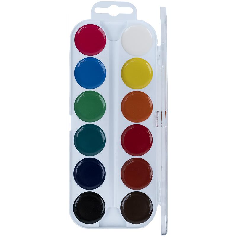 Фарби акварельні Kite Transformers TF21-061, 12 кольорів