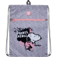 Сумка для обуви с карманом Kite Education Snoopy SN21-601L