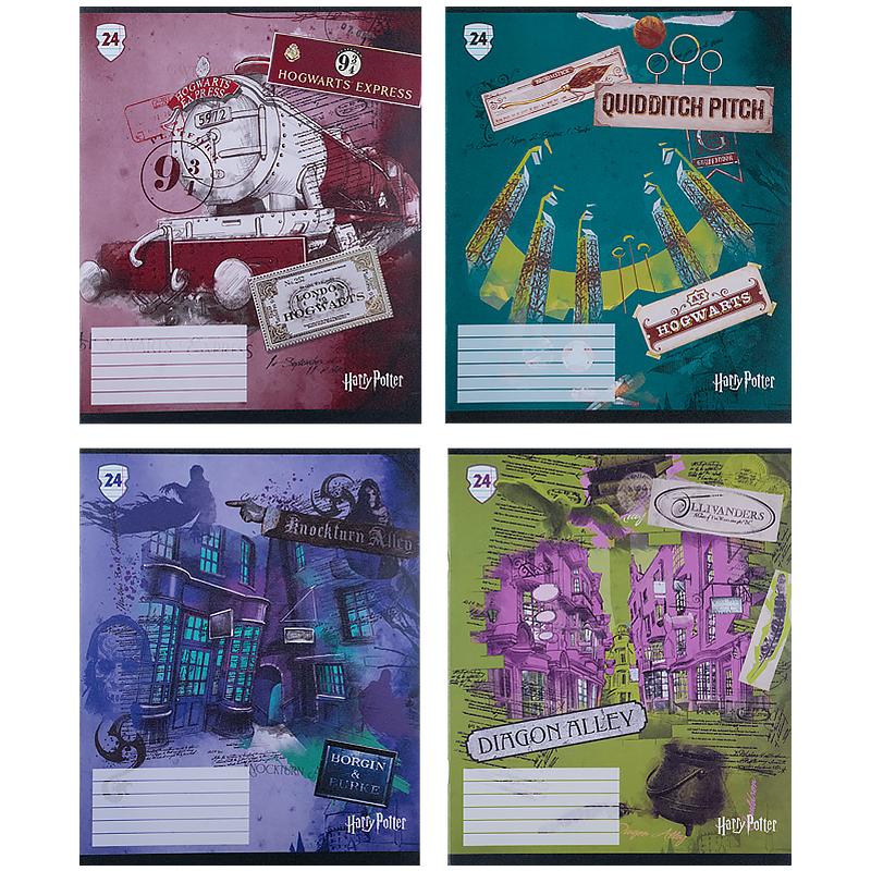 Зошит шкільний Kite Harry Potter HP21-239, 24 аркуша, лінія