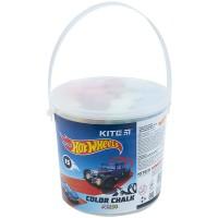 Крейда кольорова Kite Jumbo Hot Wheels HW21-074, 15 шт. у відерці