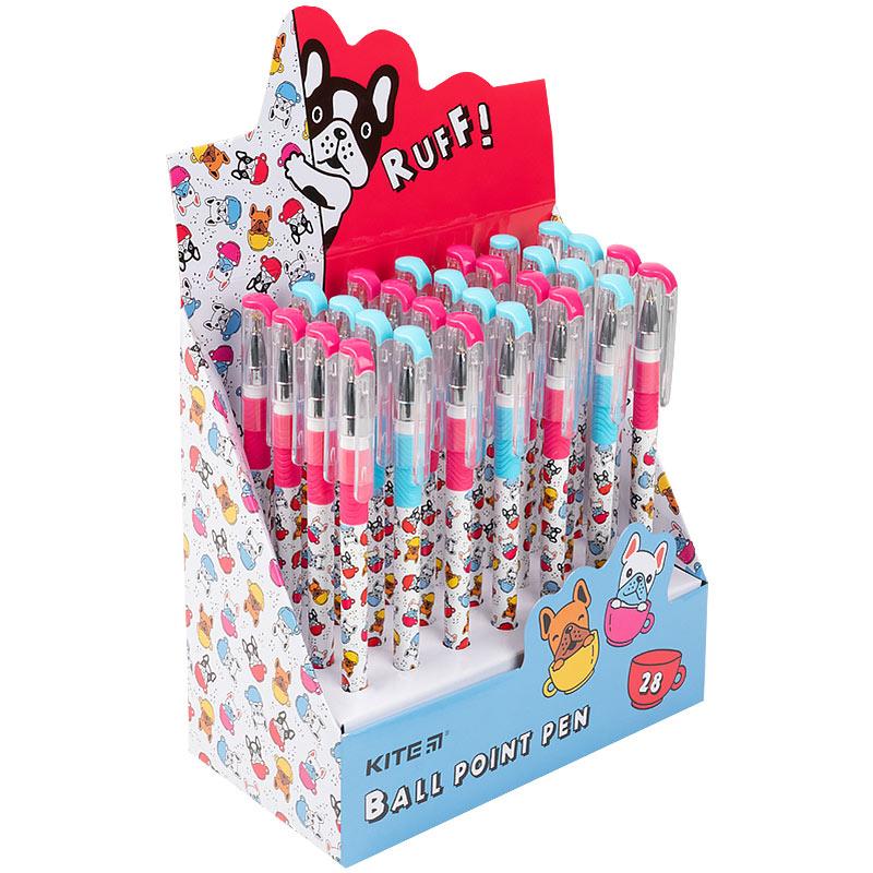 Ручка кулькова Kite Dogs K21-032-03, синя