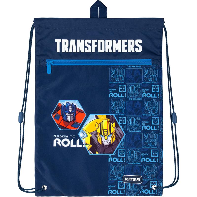 Сумка для обуви с карманом Kite Education Transformers TF20-601M-1