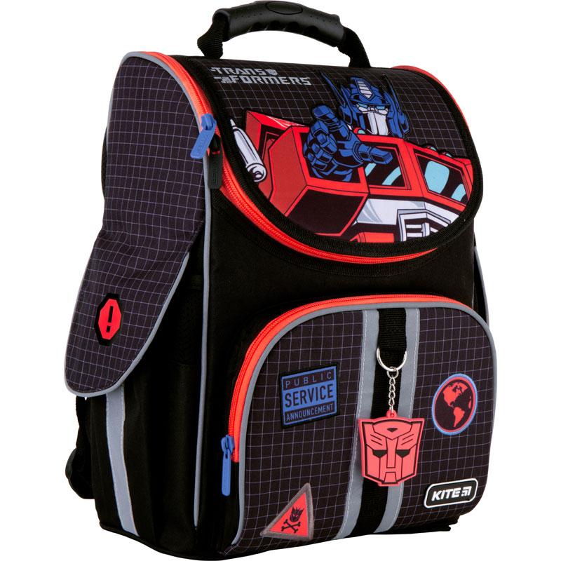Рюкзак школьный каркасный Kite Education Transformers TF21-501S