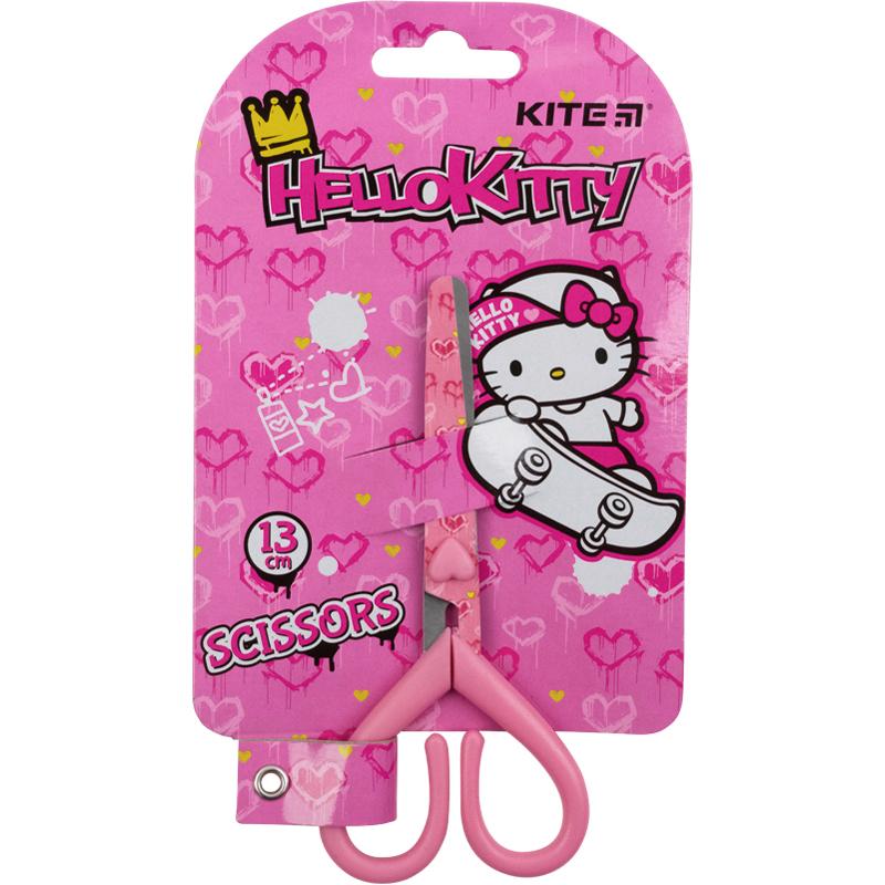 Ножиці з малюнком на лезі Kite Hello Kitty HK21-121, 13 см